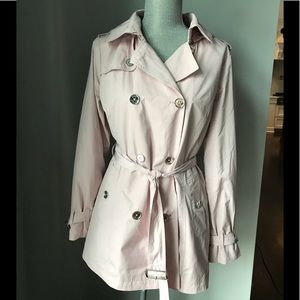 NEW Michael Kors double breasted trenchcoat